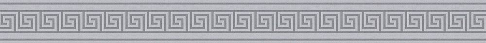 Greek Key Border - Grey - by Albany