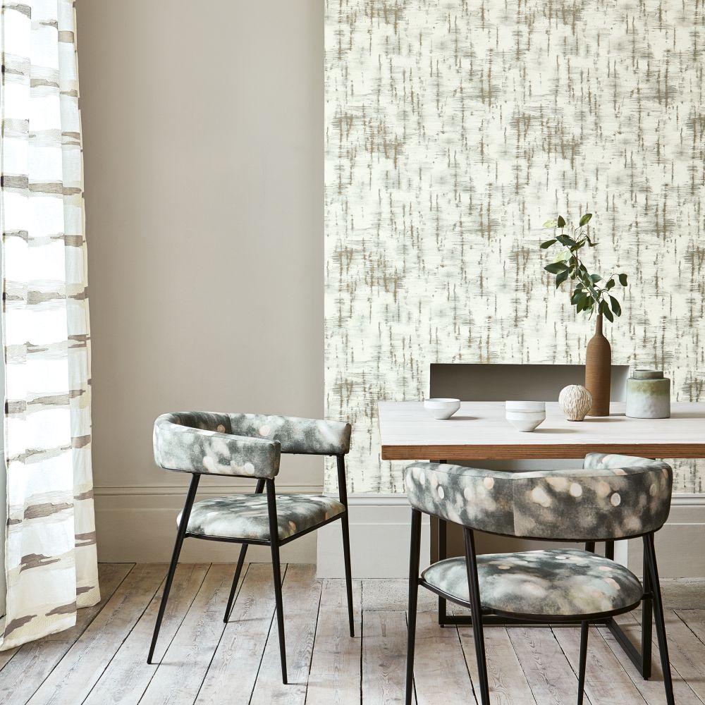 Betula Wallpaper - Dew - by Villa Nova