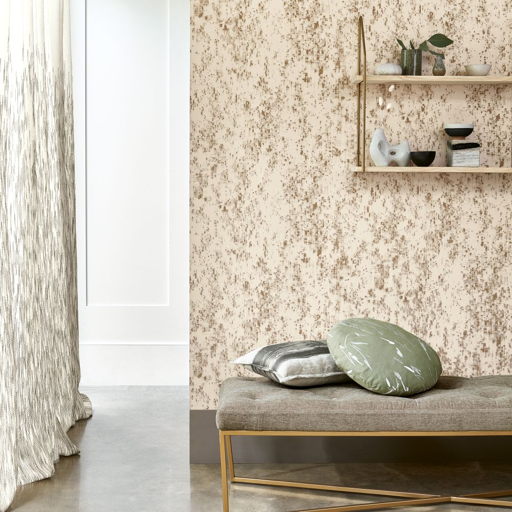 Loess Wallpaper - Sandstone - by Villa Nova