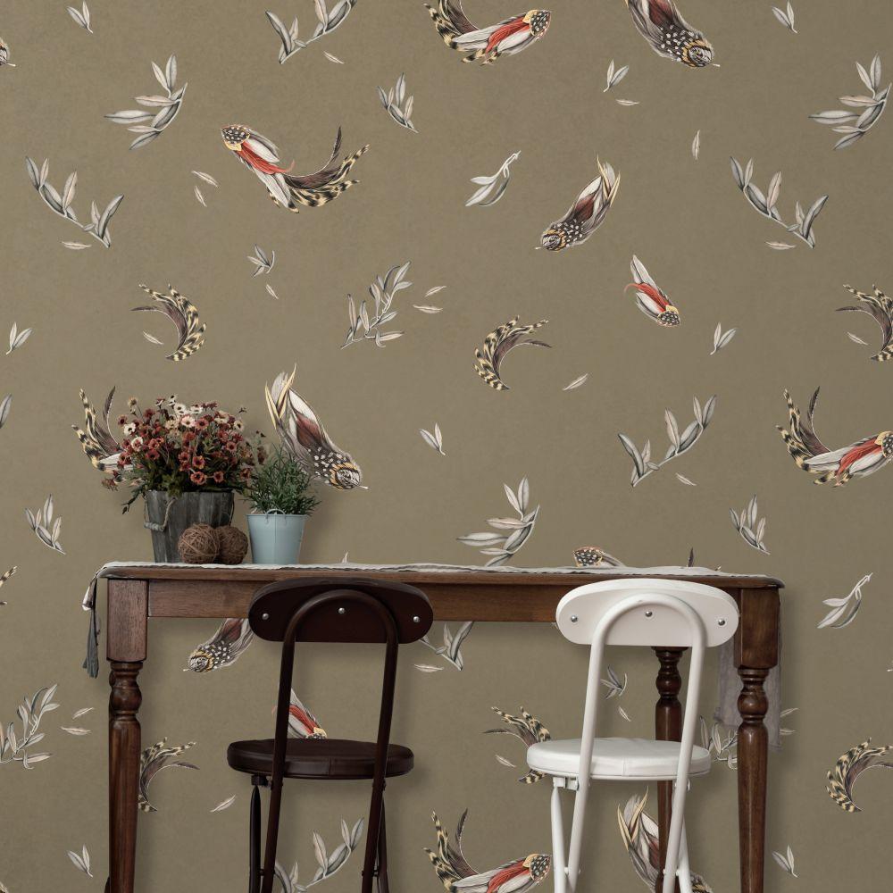 Verso Wallpaper - Soft Green - by Tres Tintas