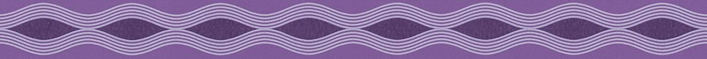 Wave Trail Border - Purple - by Albany