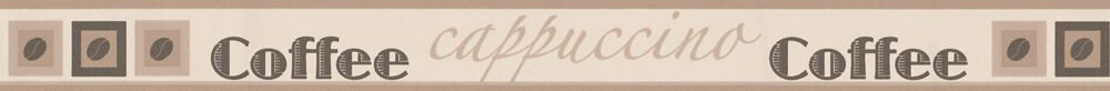 Cappuccino Border - Brown - by Albany