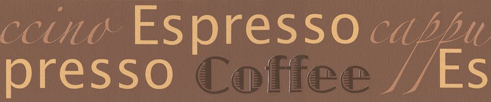 Coffee Border - Brown - by Albany