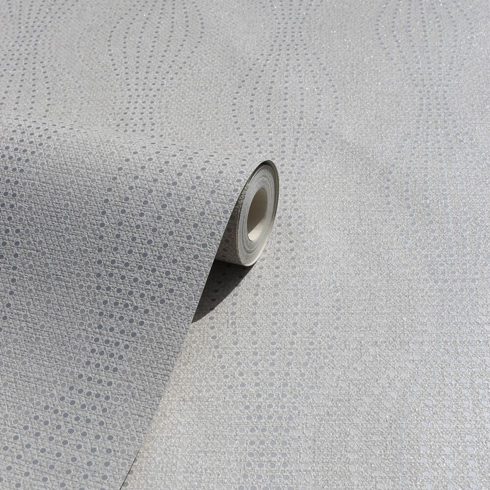 Calico Dot Wallpaper - Neutral - by Arthouse