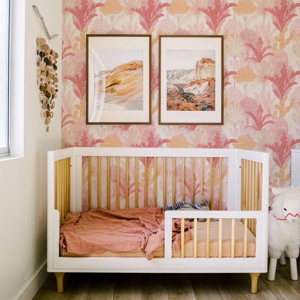 Ari  Wallpaper - Pink  - by A Street Prints
