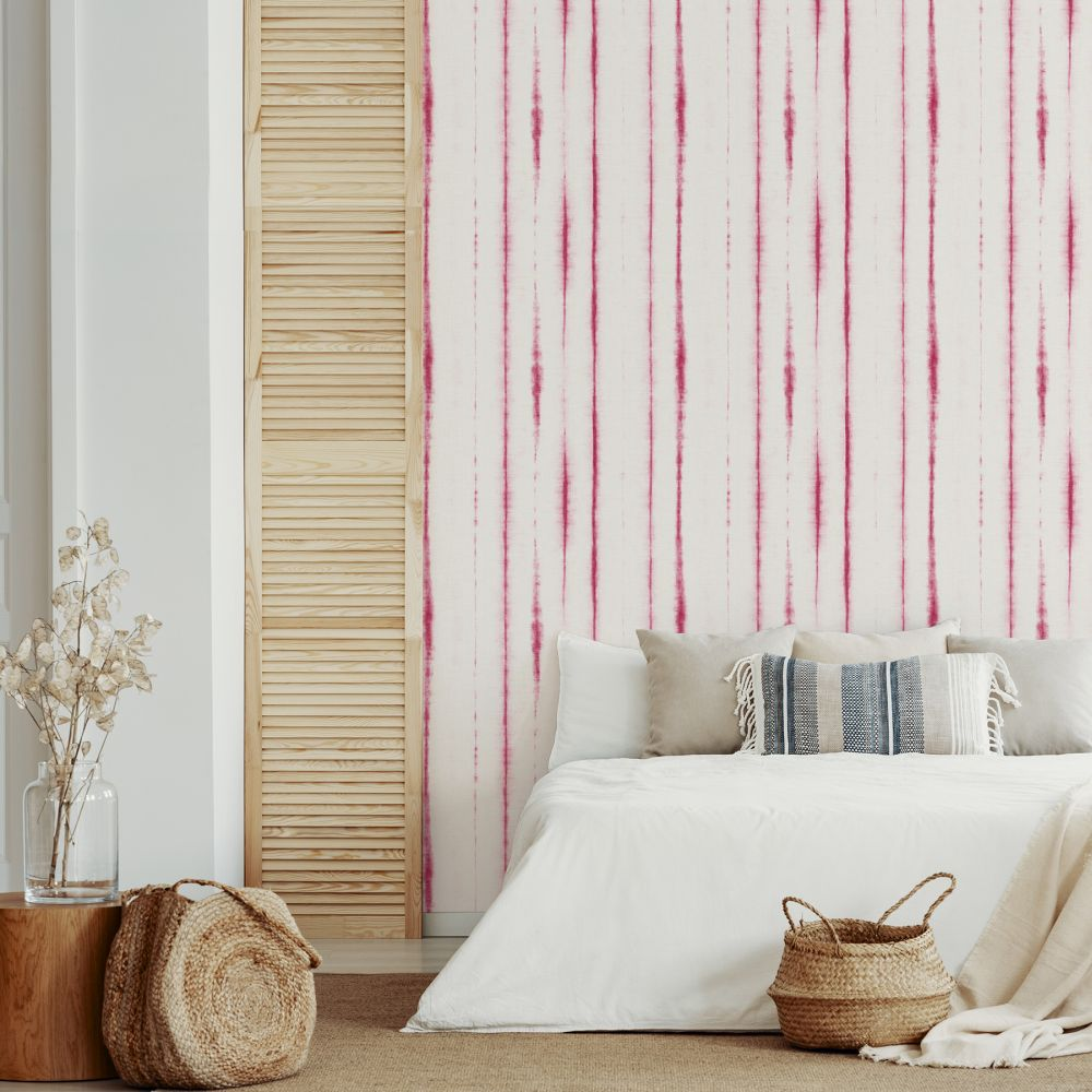 Orleans  Wallpaper - Pink  - by A Street Prints