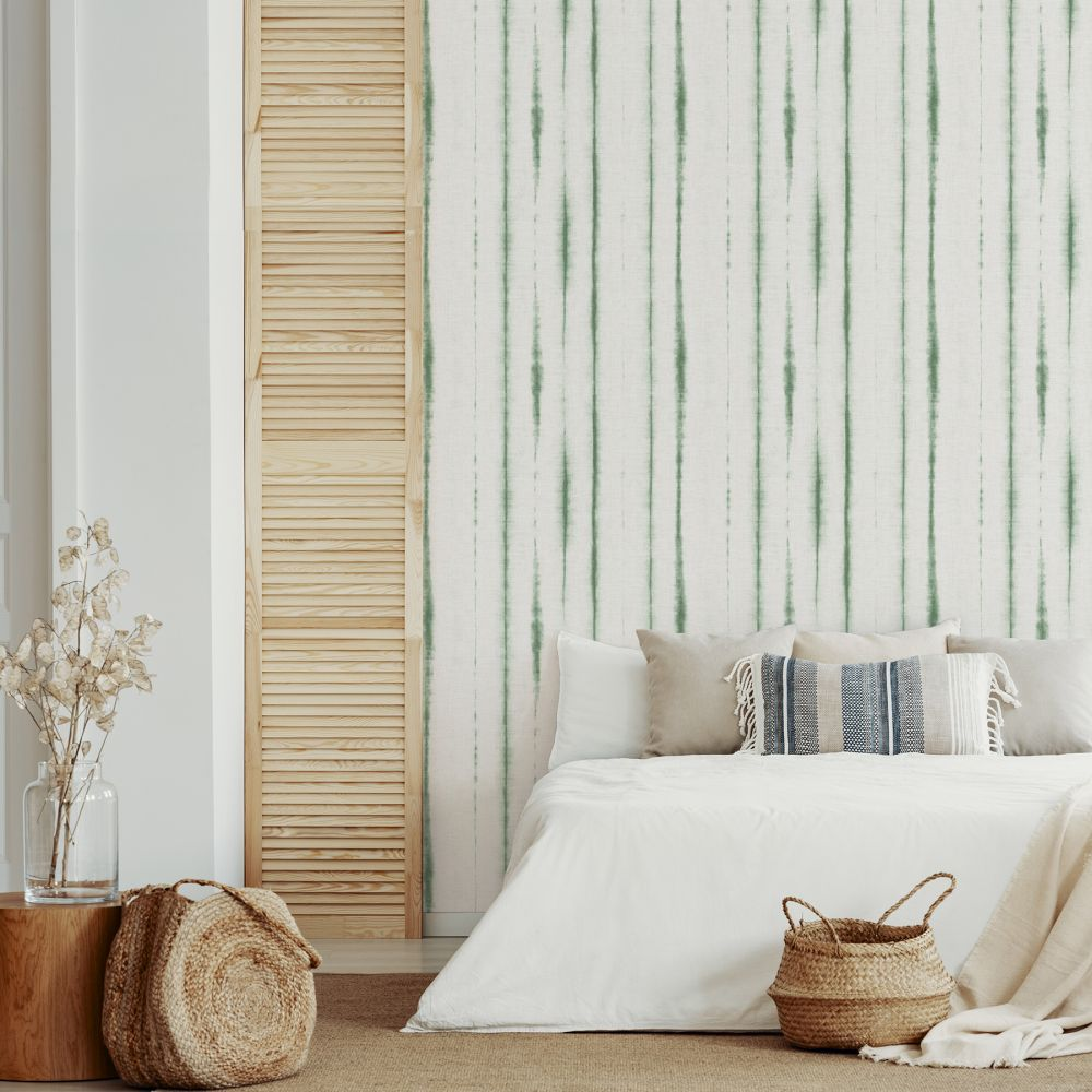 Orleans  Wallpaper - Green  - by A Street Prints