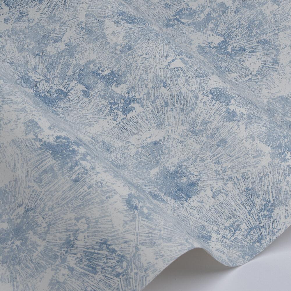 Dandelion  Wallpaper - White / Blue - by Galerie