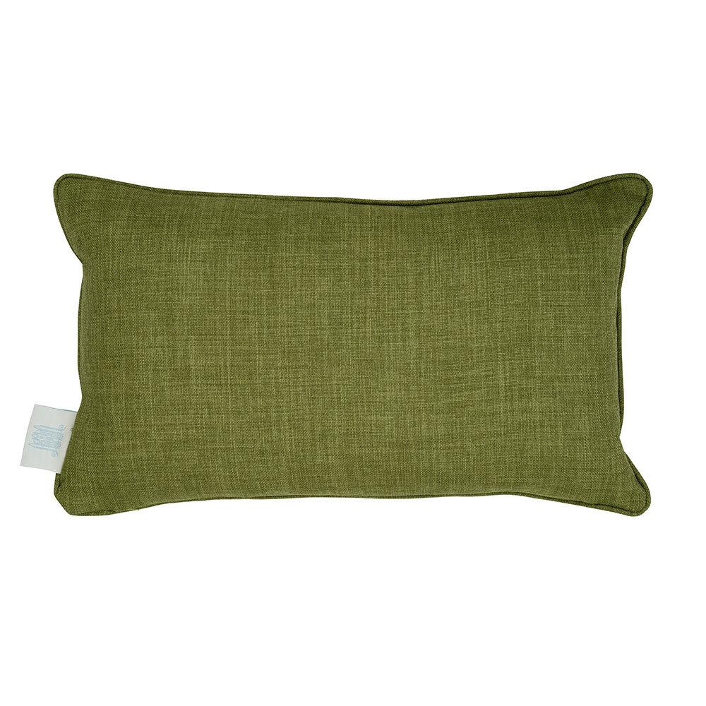 Lily Garden Rectangular Cushion - Cream - by The Chateau by Angel Strawbridge