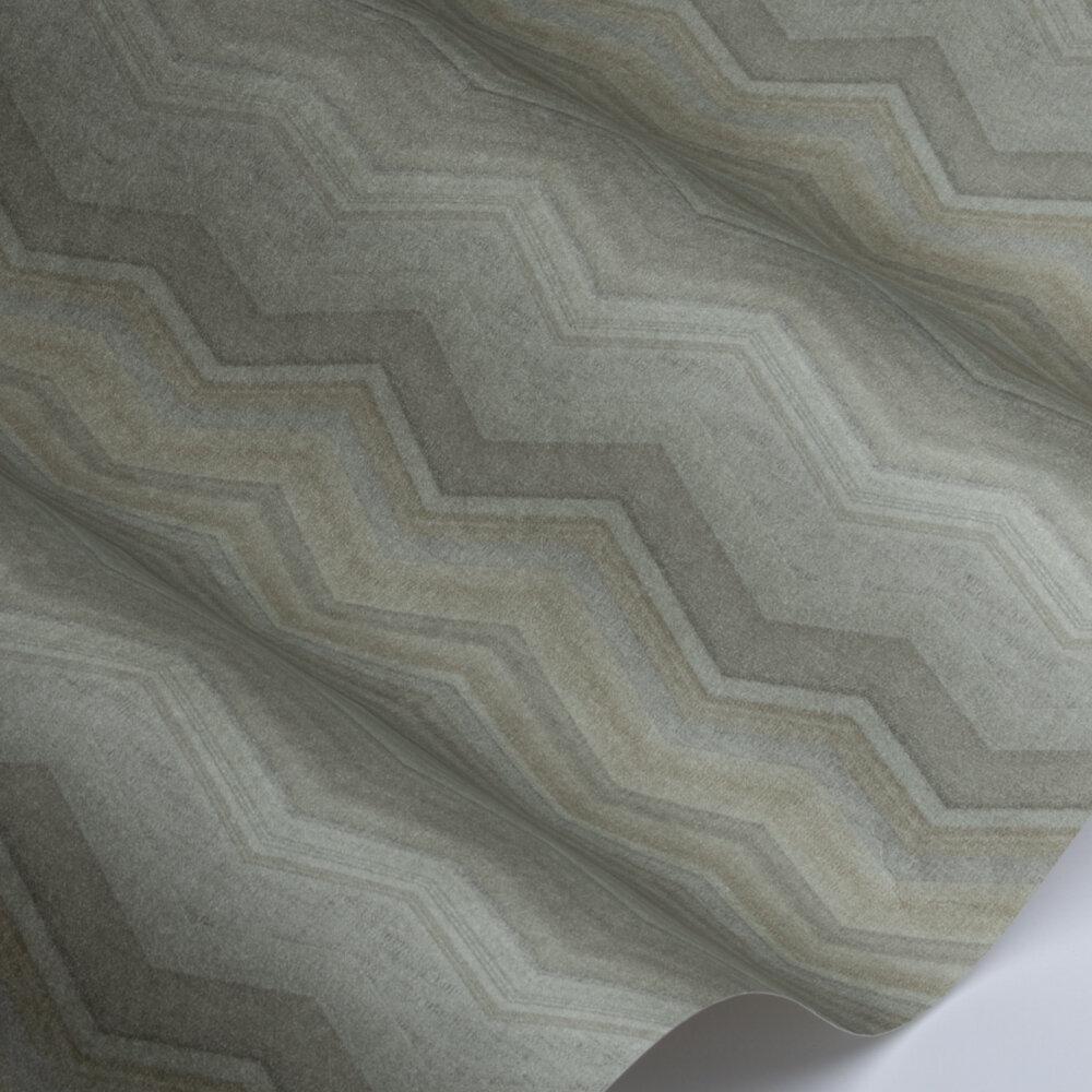 Fleuve   Wallpaper - Gold / Green - by SketchTwenty 3