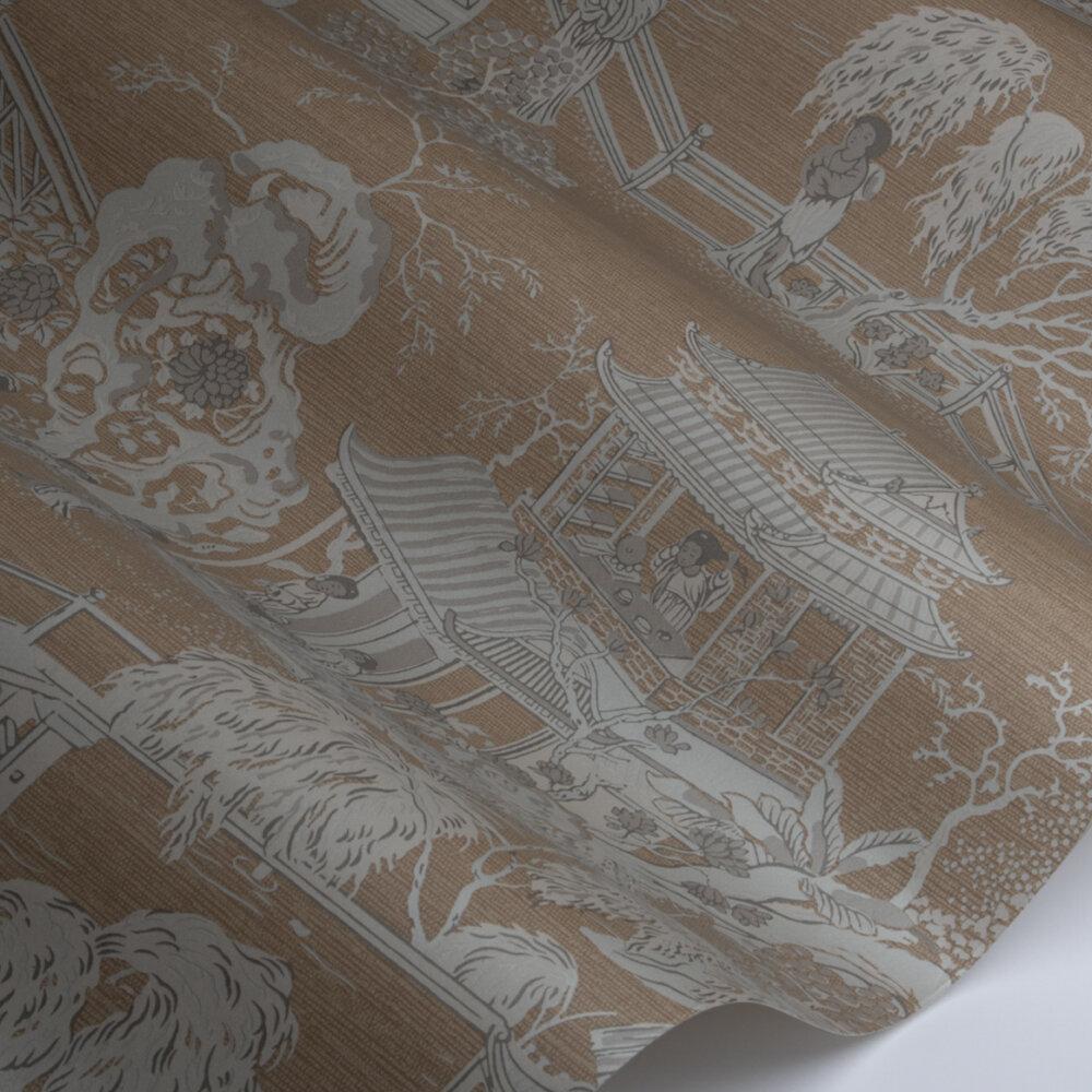 Pagoda   Wallpaper - Gold - by SketchTwenty 3