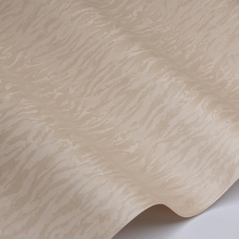 Textile Texture Wallpaper - Dark Cream - by Galerie