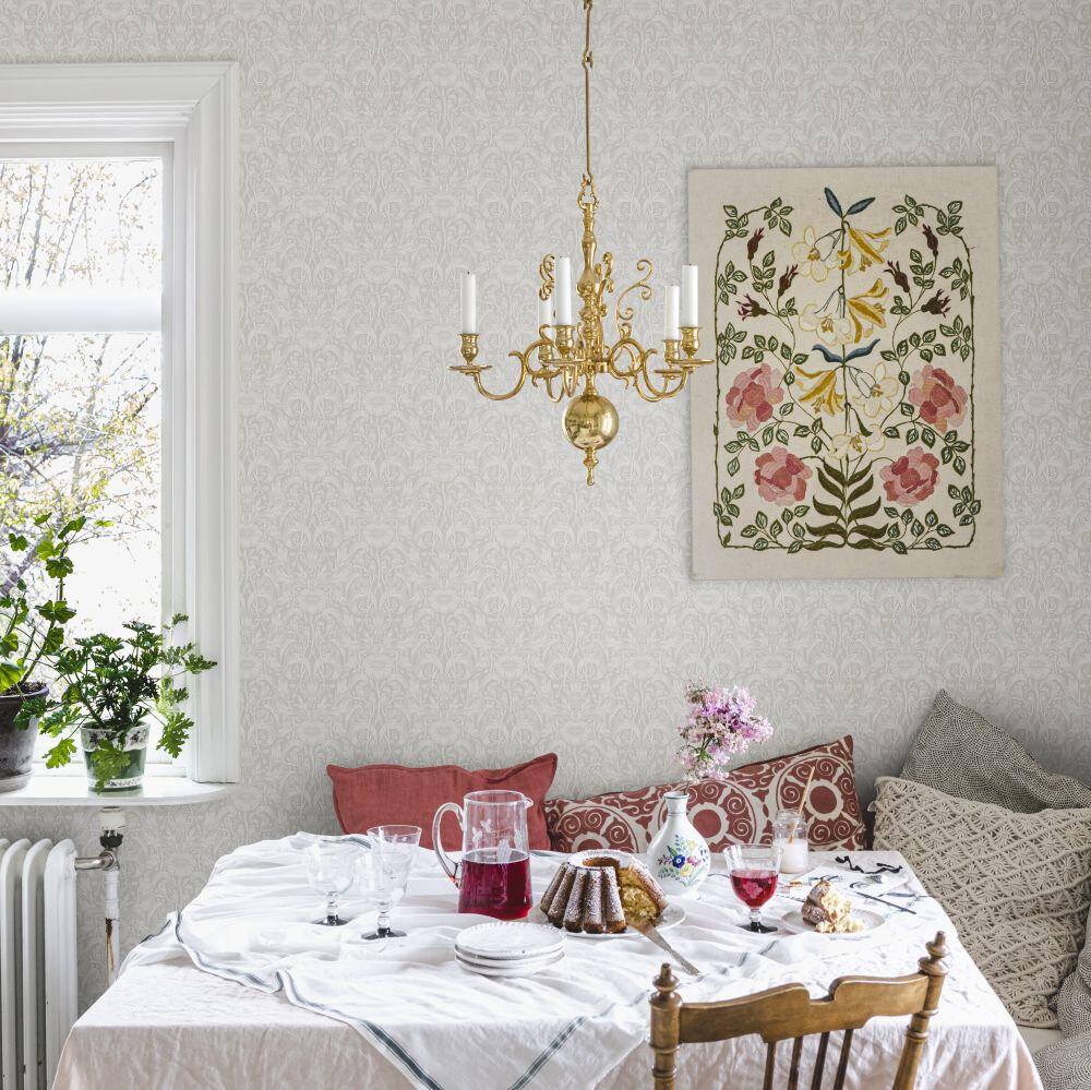 Emil Wallpaper - Sandstone - by Sandberg
