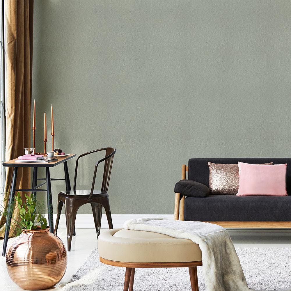Graphite Wallpaper - Grey-Green - by Coordonne