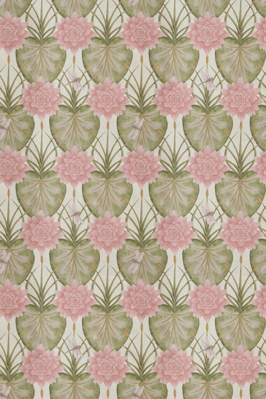 Lily Garden Fabric - Cream - by The Chateau by Angel Strawbridge