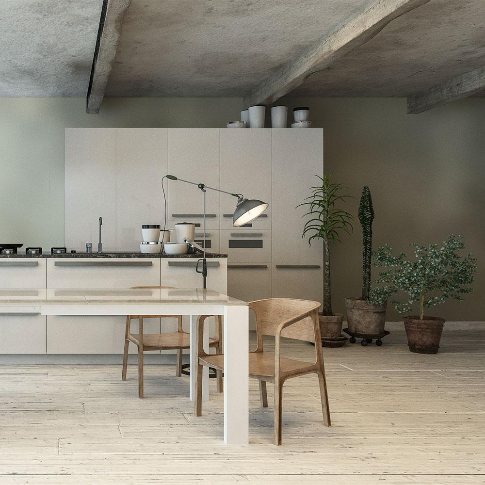 Canvas Wallpaper - Oatmeal - by Coordonne