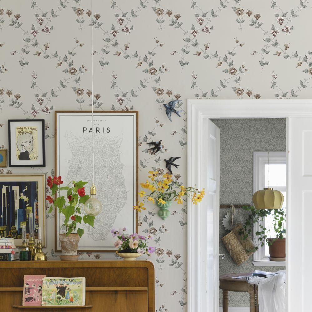 Maria Wallpaper - Sandstone - by Sandberg