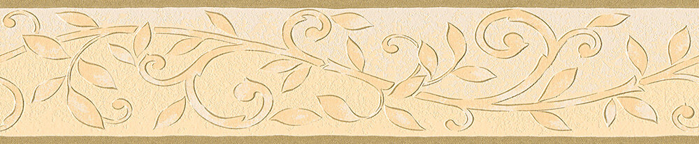 Mottled Trail Border - Beige - by Albany
