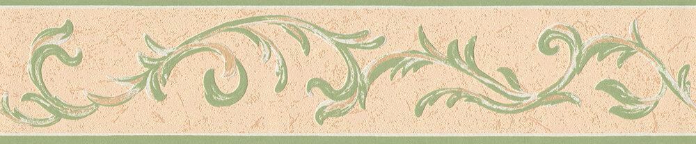 Trailing Leaf Border - Green - by Albany
