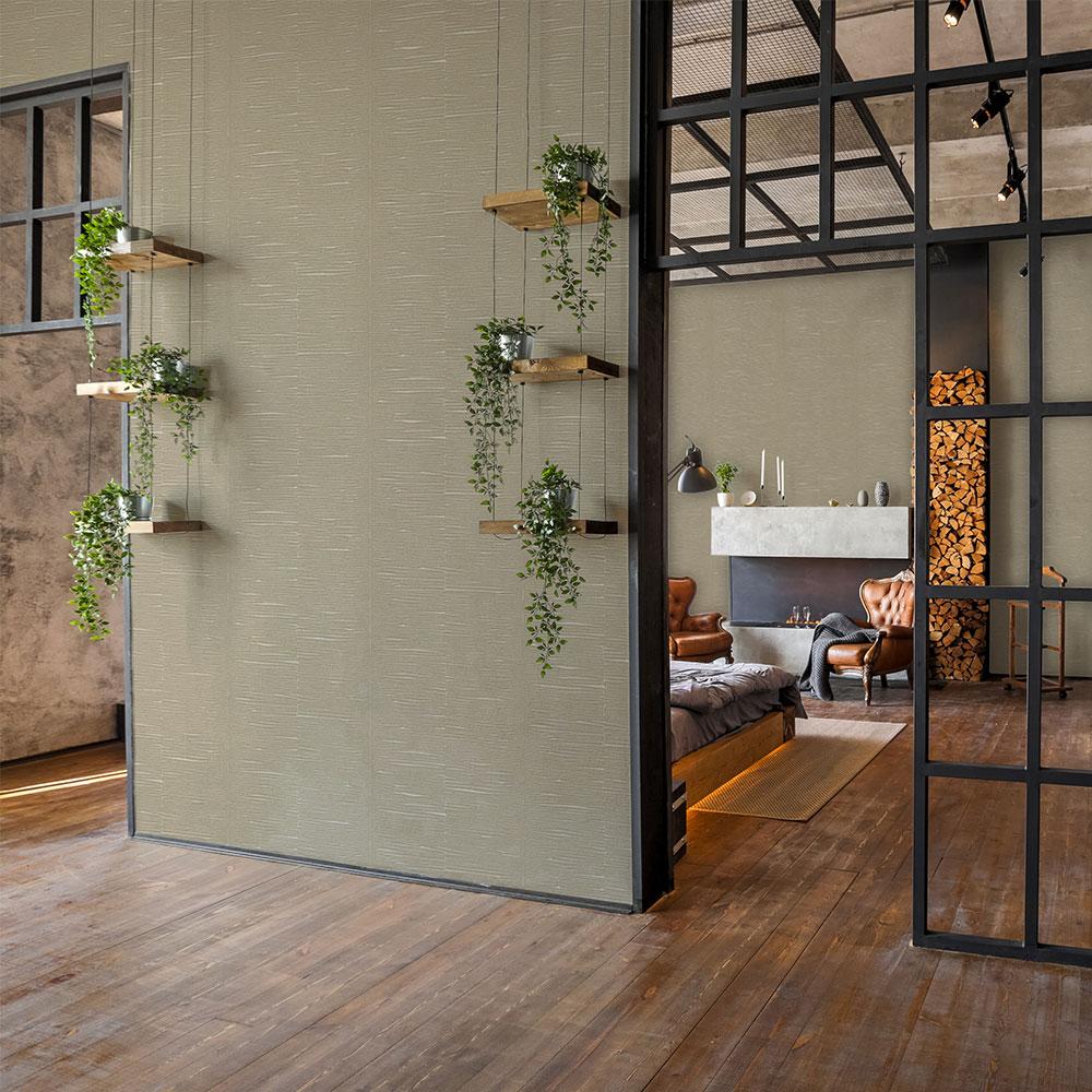 Oak Wallpaper - Beech - by Coordonne