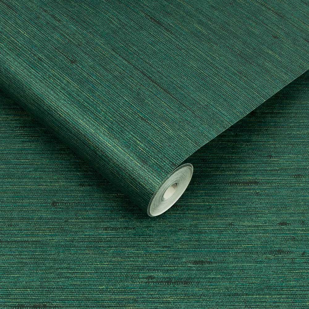 Silk Texture Wallpaper - Envy - by Graham & Brown