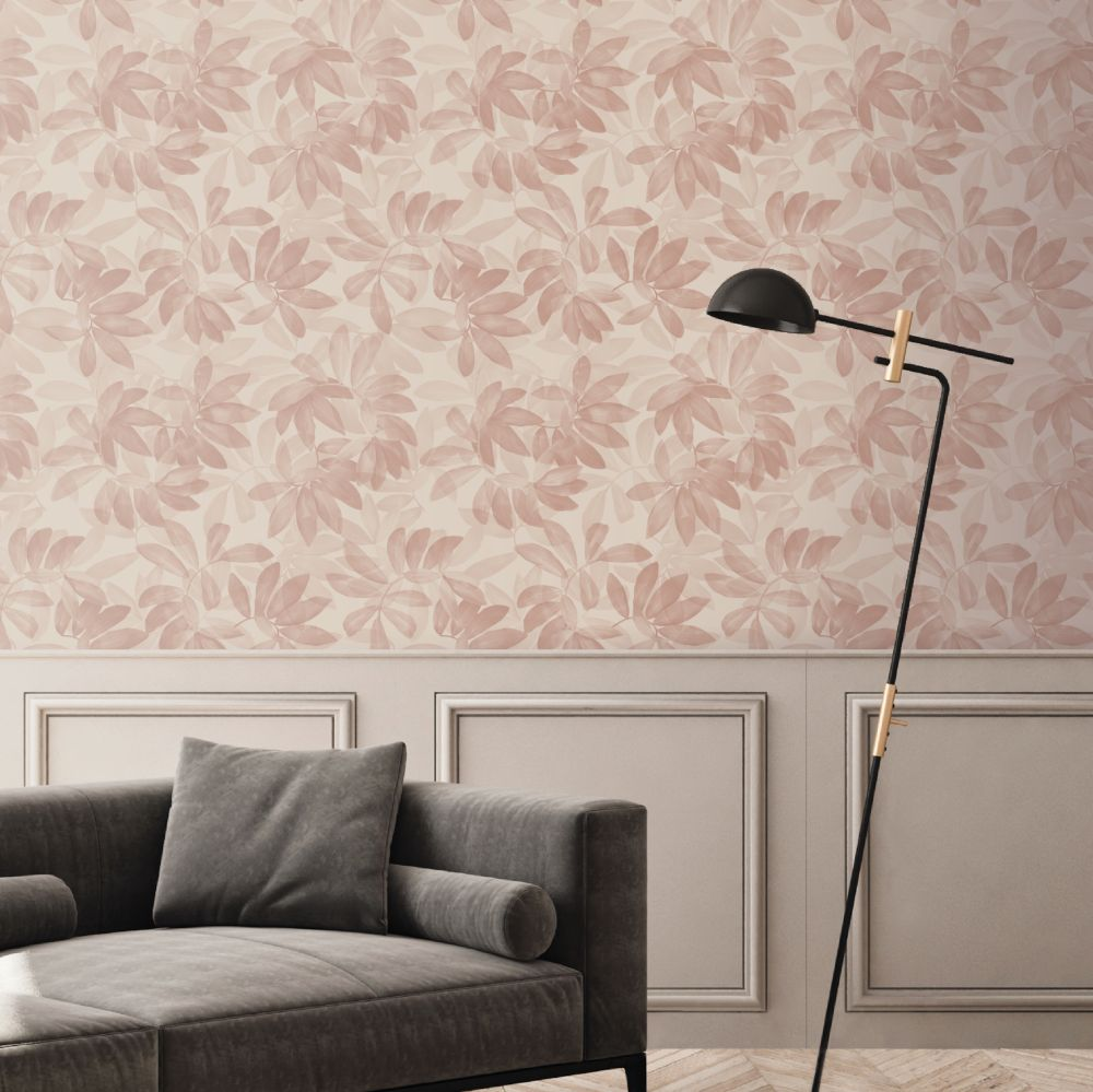 Houdini Wallpaper - Blush - by Ted Baker