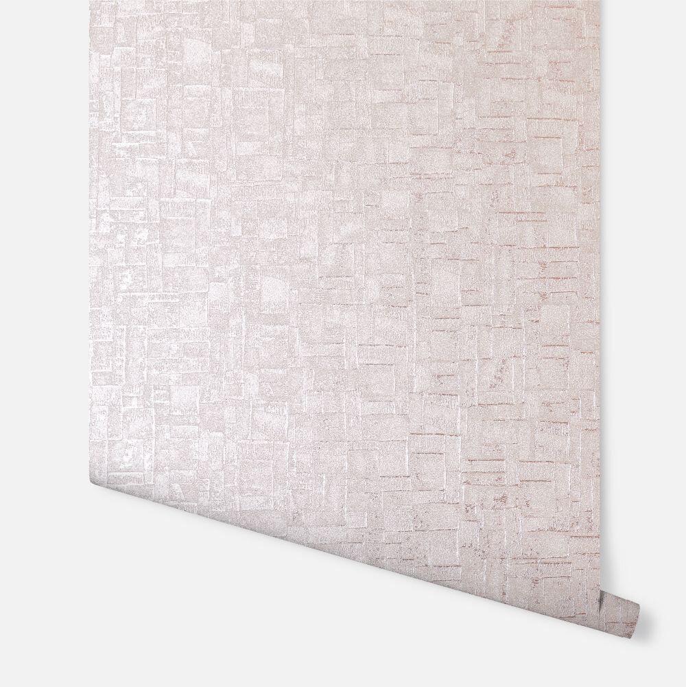 Basalt Texture             Wallpaper - Rose Gold - by Arthouse