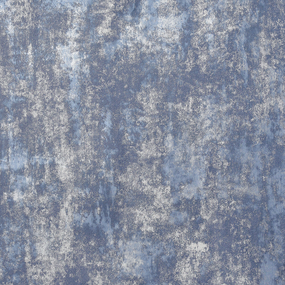 Stone Textures                          Wallpaper - Navy / Silver - by Arthouse