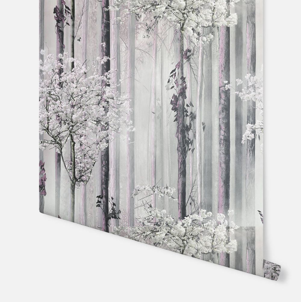 Blossom Forest  Wallpaper - Pink - by Arthouse