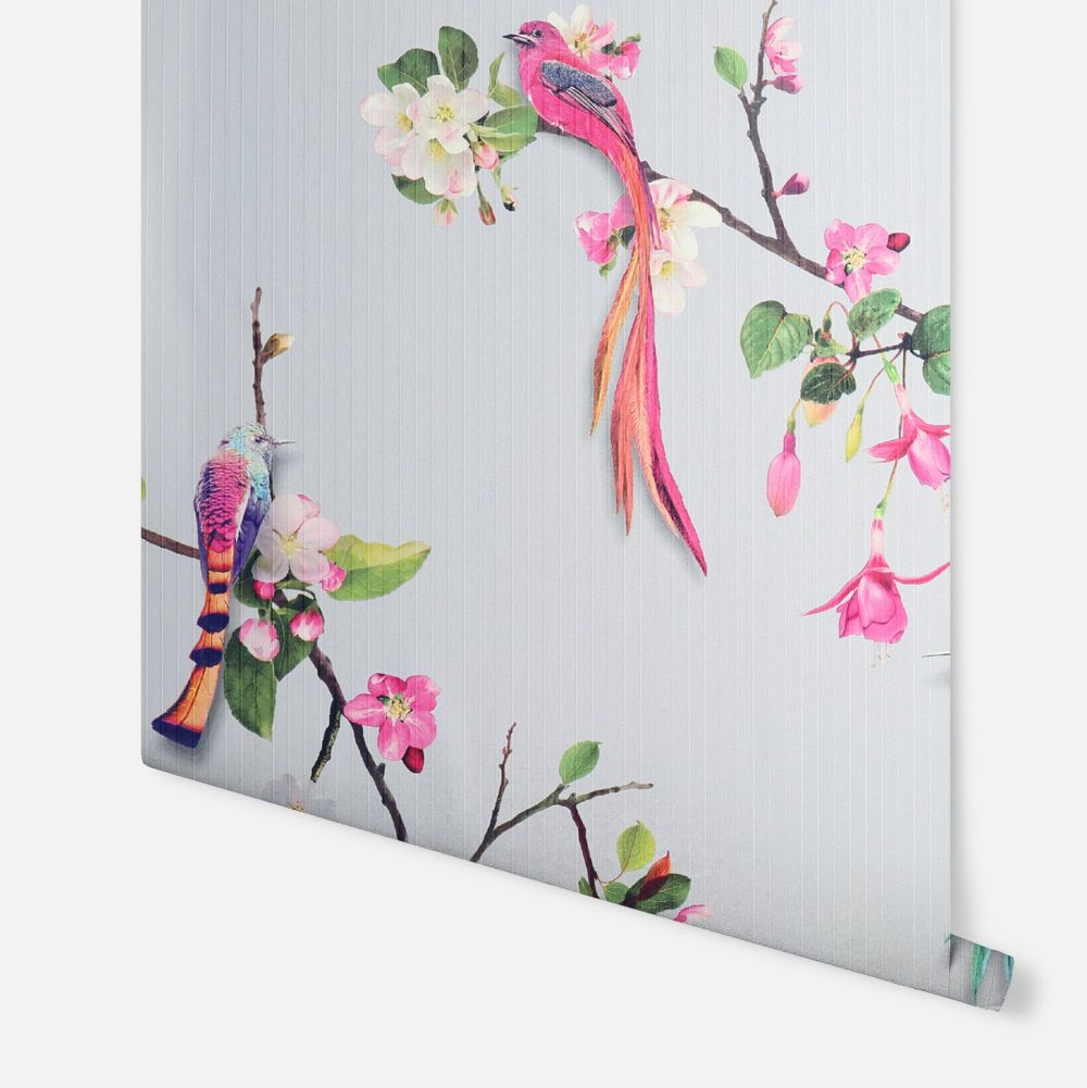 Birds of Paradise  Wallpaper - Multi - by Arthouse
