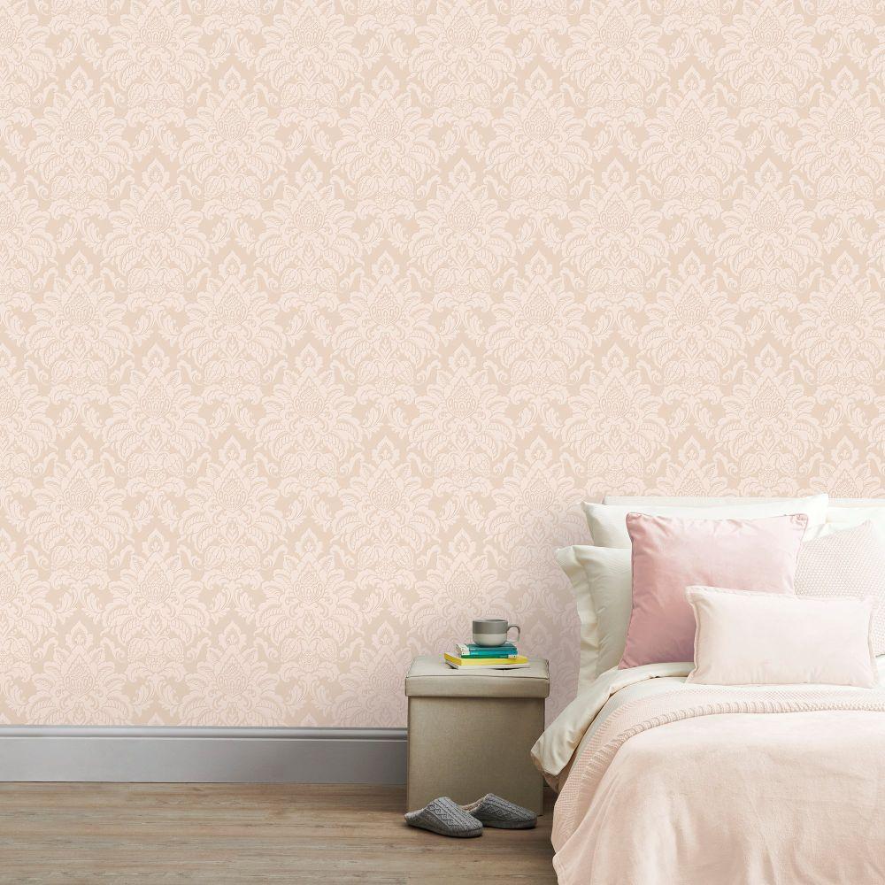 Glisten  Wallpaper - Blush - by Arthouse