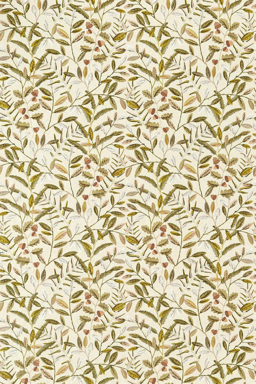 Quercus Fabric - Pesto - by Sanderson
