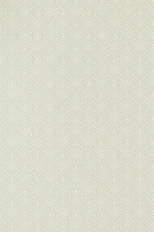Orchard Tree Weave Fabric - Linen / Steel Blue - by Sanderson