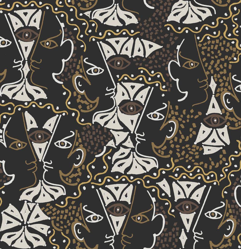 Union Wallpaper - Mordore - by Lelievre
