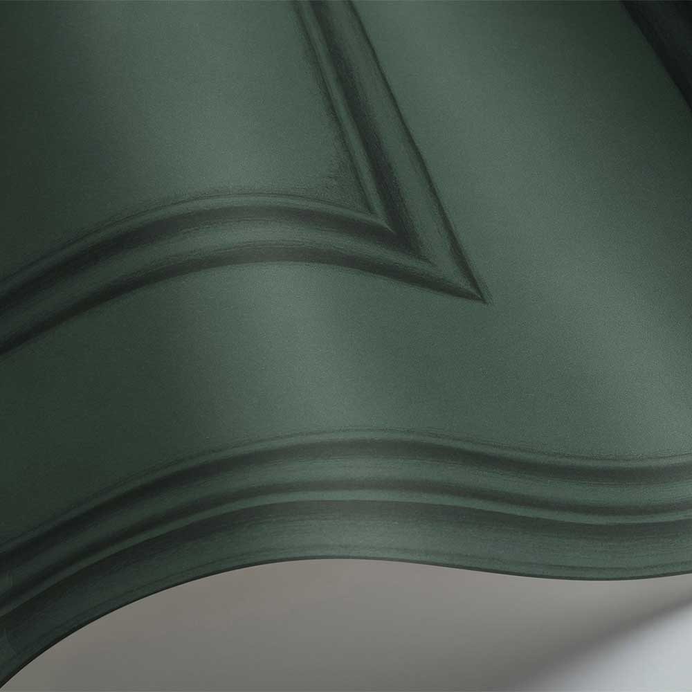 Library Frieze Wallpaper - Dark Viridian - by Cole & Son