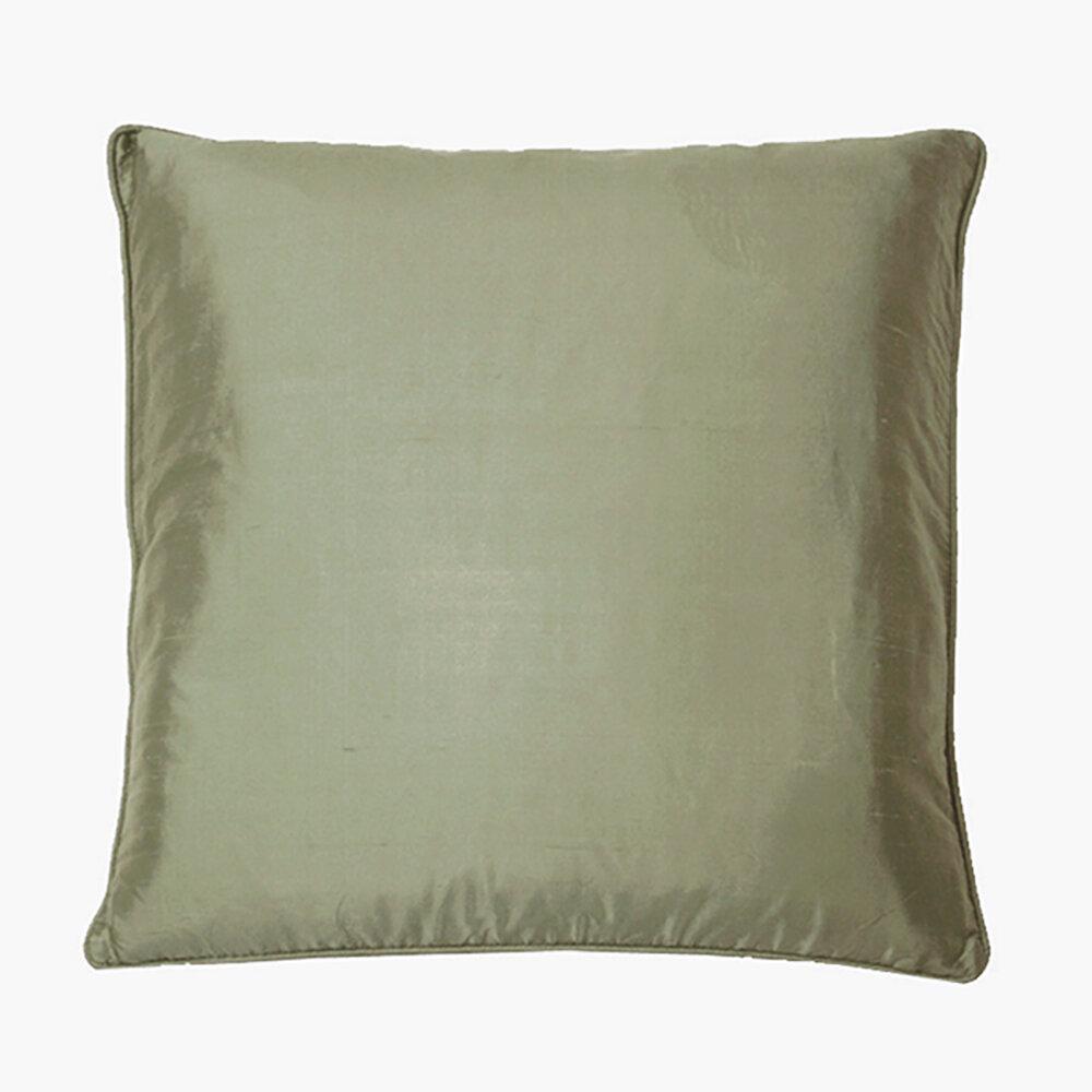 Silk Cushion - Antique Silk - by Kandola