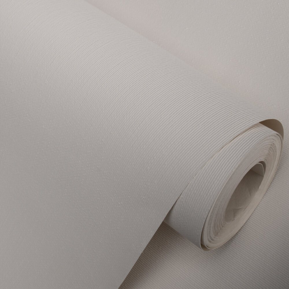 Paintable White Wallpaper - by Brewers