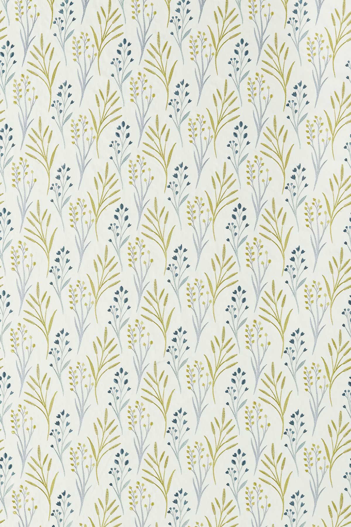 Kinniya  Fabric - Grasshopper - by Scion