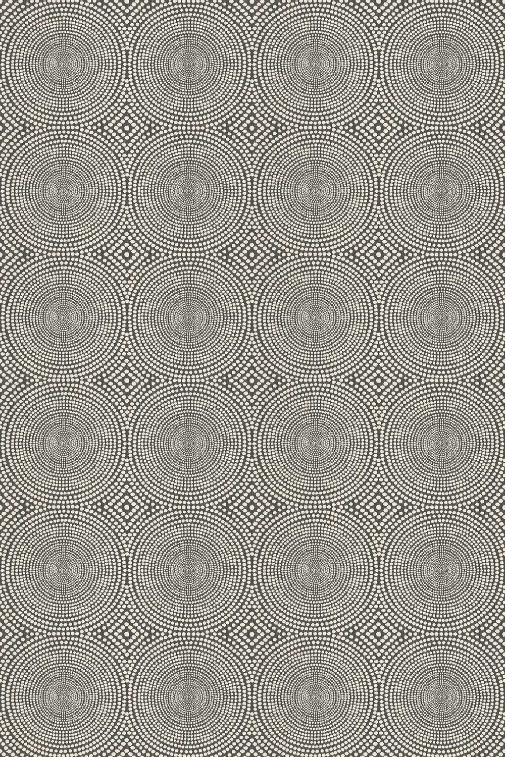 Kateri Fabric - Charcoal - by Scion