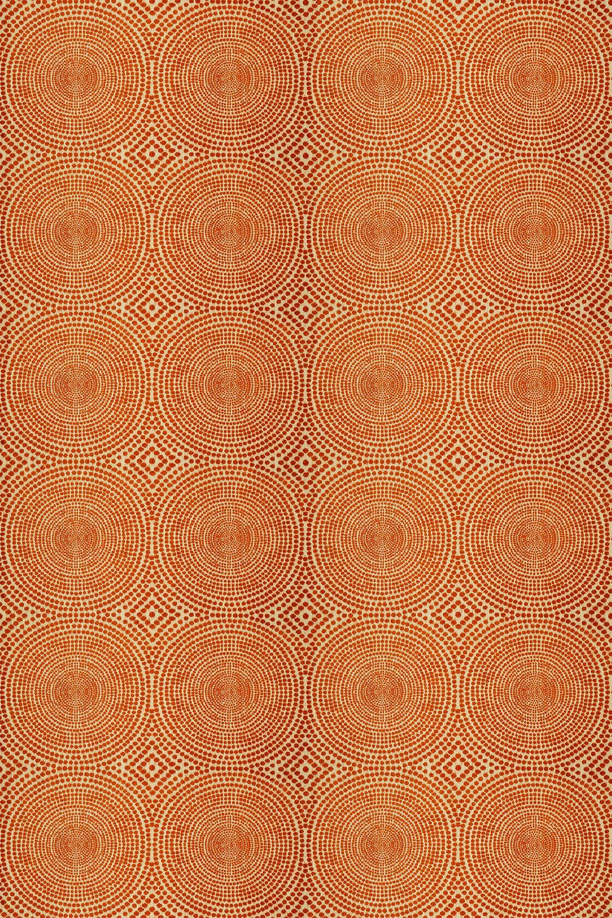 Kateri Fabric - Tangerine - by Scion