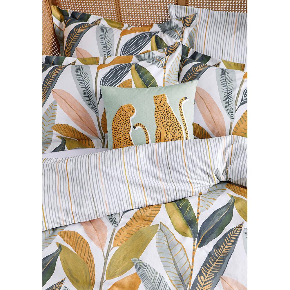 Hikkaduwa Duvet Set Duvet Cover - Tangerine - by Scion