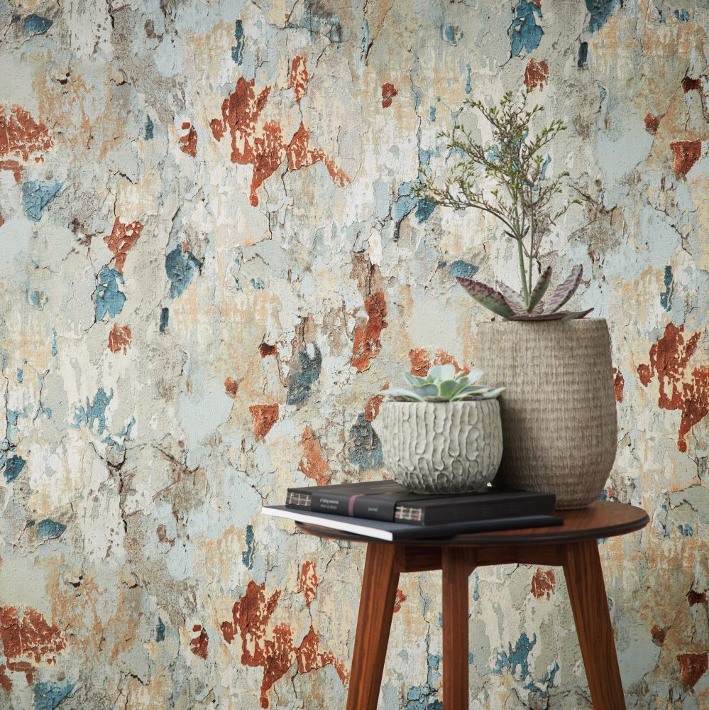Rustic Wall Wallpaper - by Metropolitan Stories