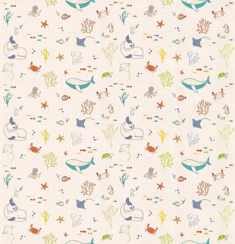 Splash Fabric - Jungle - by Prestigious