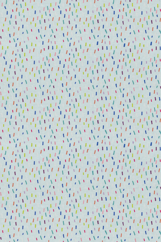 Dolly Mixture Fabric - Rainbow - by Prestigious