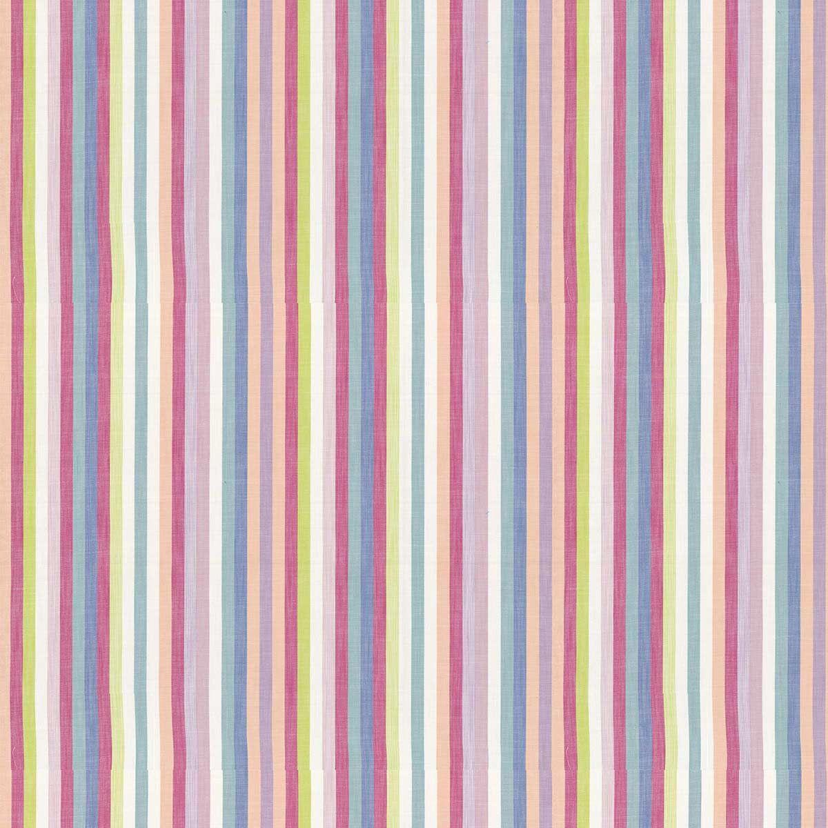 Skipping Fabric - Rainbow - by Prestigious