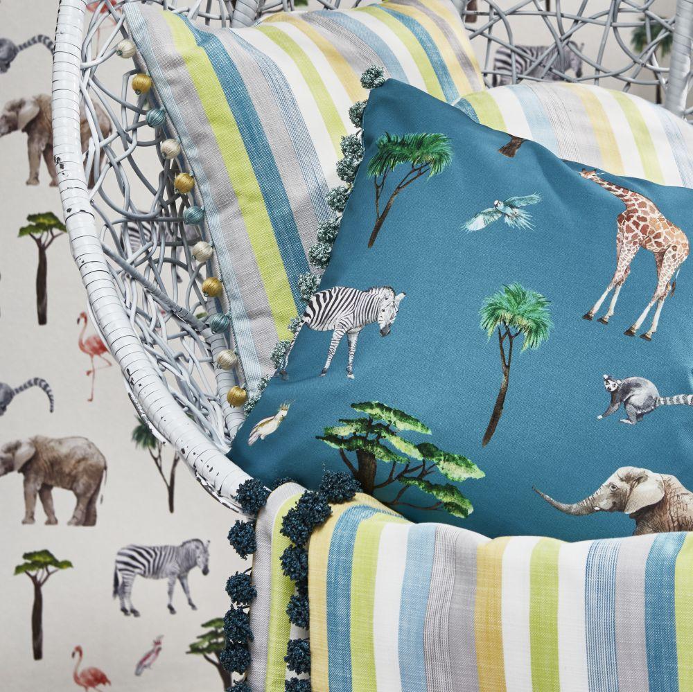 Skipping Fabric - Reef - by Prestigious