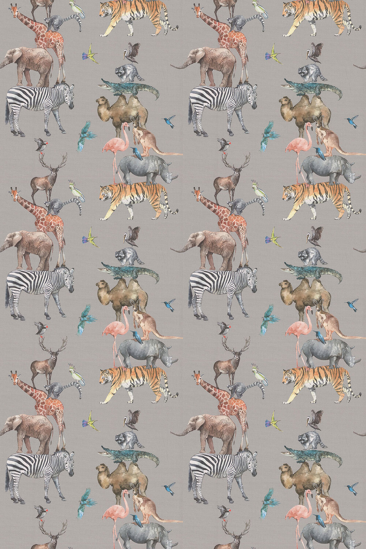 Animal Kingdom Fabric - Reef - by Prestigious