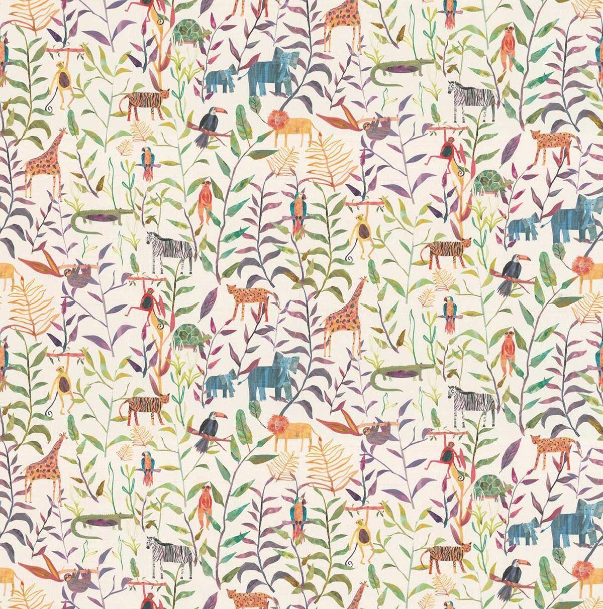 Hide And Seek Fabric - Candyfloss - by Prestigious