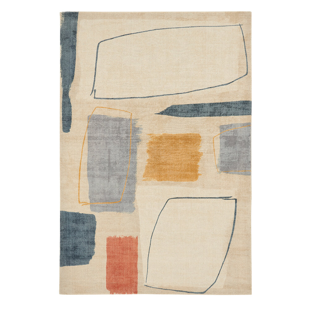 Composition Rug - Amber - by Scion