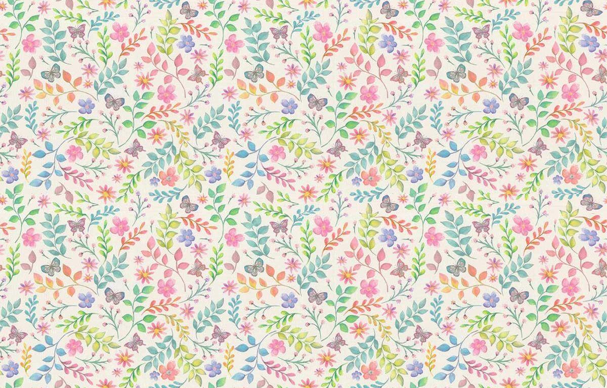 Secret Garden Fabric - Candyfloss - by Prestigious